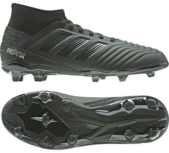 Adidas Predator Size 11.5 Firm Ground Soccer Cleats Black Men's Size 11.5