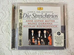 Beethoven-Die-Streichtrios-2-CDs-Mutter-Giuranna-Rostropovich-Import-OBI