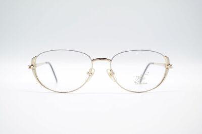 Ausdauernd Vintage Vip Collection 2011 55[]16 135 Gold Halbrand Brille Eyeglasses Nos