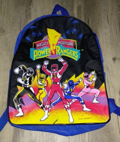 1993 Saban/'s Mighty Morphin Power Rangers Vintage Backpack