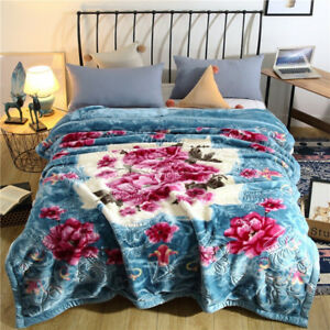 479d3e501c Luxury blanket Top grade thick winter throws soft quilt bed sheet ...