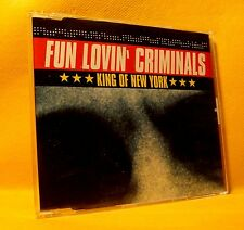 MAXI Single CD Fun Lovin' Criminals King Of New York 4TR 1997 House Pop