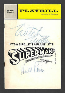 "Jack Cassidy ""IT'S SUPERMAN"" Harold Prince (Signed) 1966 Tryout Playbill"