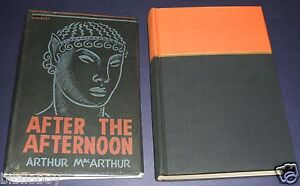 1941-First-Edition-In-Dust-Jacket-of-After-the-Afternoon-by-MacArthur-Fantasy
