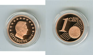 Luxemburg  1 Cent  PP/Proof  (Wählen Sie zwischen: 2002 - 2017)