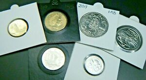 2019-Australia-Ian-Rank-Broadley-IRB-Effigy-UNC-Coin-Set-ex-RAM-Mint-Bags