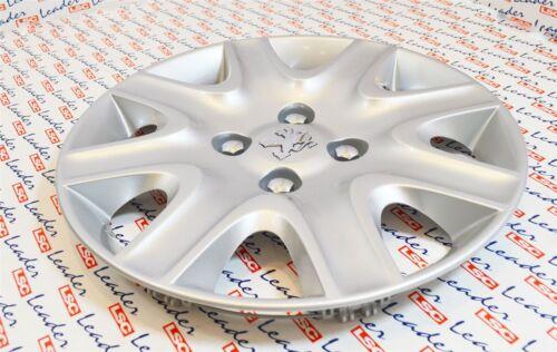 "Genuine PEUGEOT 207-bisbane Style 15/"" ruota rifinitura//8 Spoke hub cap-nuovo"
