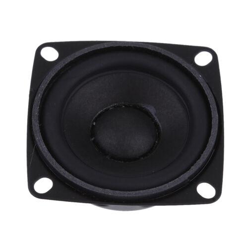 Durable 52mm 4Ohm 5W Full Range Audio Speaker Hi-Fi Stereo Rubber Edge