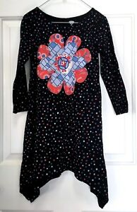58b1ecb9d840 Image is loading Girl-039-s-all-cotton-knit-dress-Old-