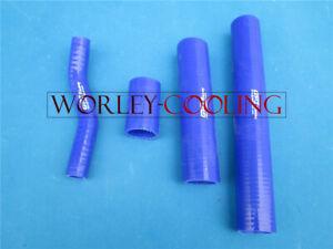 Silicone-radiator-hose-for-Suzuki-GT750-LeMans-1972-1977-72-73-74-75-76-77-BLUE