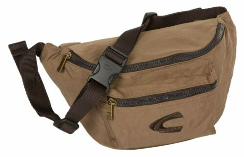 Camel Active Shoulderbag Tasche Gürteltasche Journey Braun Sand Zipper Neu