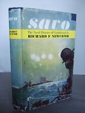 Savo - The Incredible Naval Debacle off Guadalcanal - R F Newcombe HB DJ 1963