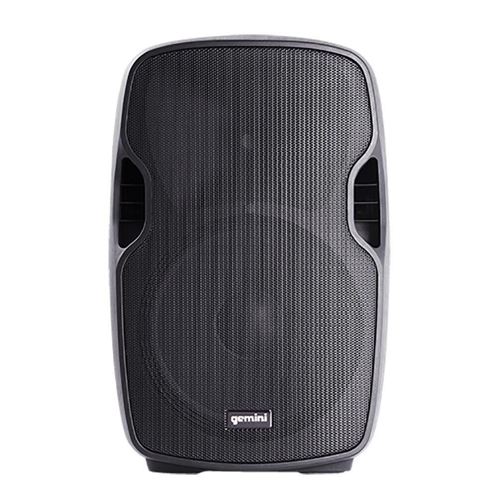 Gemini AS-08blue 8  Powered ABS Molded blueetooth Loudspeaker DJ Speaker Monitor