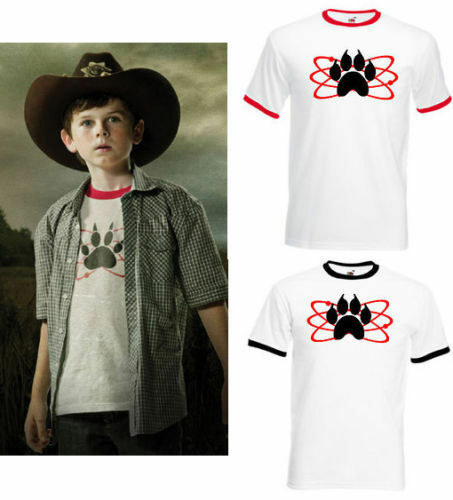 ATOMIC PAW MENS TSHIRT STYLE COMIC BOOK CARL GRIMES COSPLAY COMICON