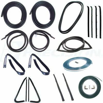 FOR 1960-63 CHEVROLET C10 C20 C30 New Precision Weatherstripping Seal Kit