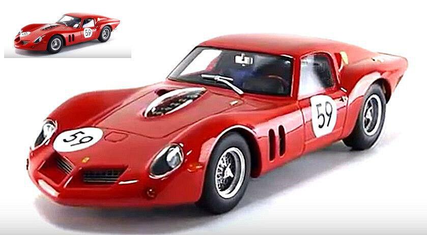Ferrari 250 Gt Drogo  59 5th 1000 Km Nurburing 1963  Elde    Van Ophem 1 18 CMR