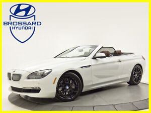 2012 BMW 6 Series CONVERTIBLE 650i A/C BLUETOTH CAMERA DE RECUL