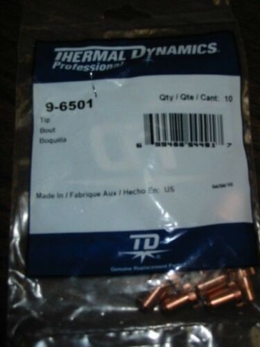 THERMAL DYNAMICS 9-6501 TIP QTY 10