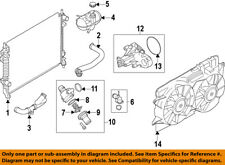 Genuine Ford Fan Assembly FR3Z-8C607-A