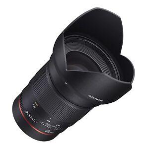 Chip Canon Rokinon Angular Lente Ae F1 4 35mm con para Ef Medición Gran Coche 040wUfP