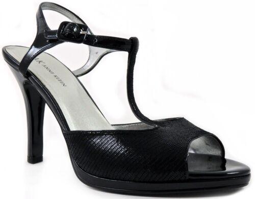 Klein 9 Anne strap leer 5bm740341006988 Quartz dames Slingback sandalen T maat zwart Ny80mnwOv