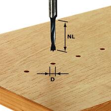FESTOOL Viertelstabfräser HW Schaft 8 mm Verschiedene Durchmesser