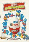 X2526 KINDER Sorpresa - I 10 Happypotami - Pubblicità 1991 - Advertising