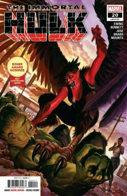 Marvel The Immortal Hulk 8 Comic Book For Sale Online Ebay