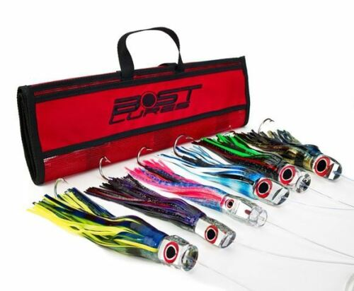 Rigged//Un-Rigged Mirrored Marlin Lure Pack by Bost