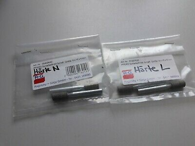 links mit Befestigungsnormteile RT125//3 RT125 Fu/ßrastengummi SET- rechts u RT125//2 RT125//1