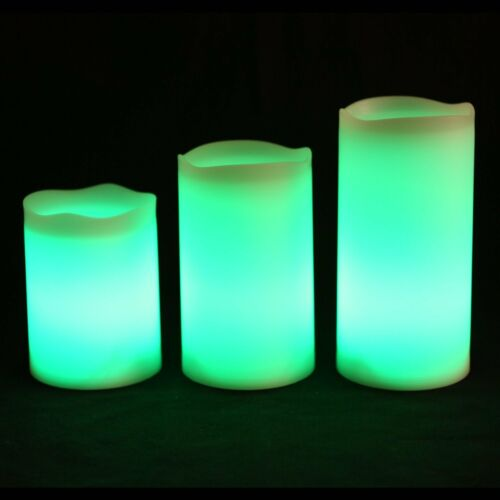 Home Décor 6 x Battery LED Colour Changing Candles Timer Flame Wax Candle  Party Wedding New Home & Garden raiulgratarelor.ro