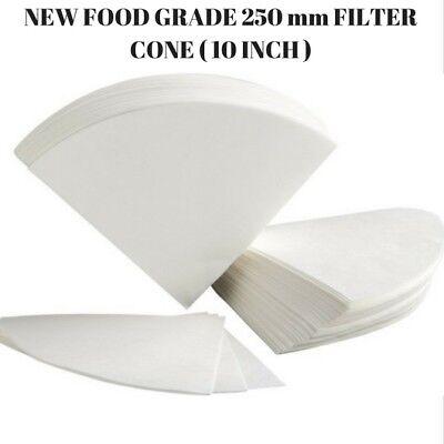 50 Pcs Oil Filter Cones Paper 10 Inch Regular 250 Mm