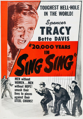 Movie Poster 1932 20,000 Years In Sing Sing