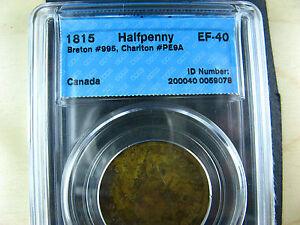 PE-9A-CCCS-EF-40-One-Halfpenny-1815-token-PEI-Canada-Breton-995