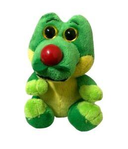 Custom-Plush-Crocodile-Red-Nose-Day-Mini-Soft-Plush-Toy-12cm-Seated
