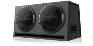Pioneer-TS-WX1220AH-3000-WATT-DUAL-PORTED-12-034-Amplified-Subwoofer-Box-Enclosure