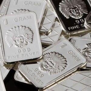 Lot 30 X 1 Gram 999 Fine Silver Bar Bullion Indian