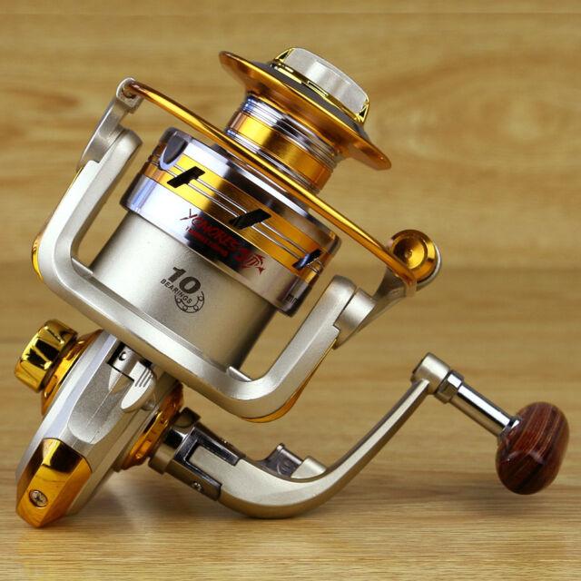 10BB Ball Bearing Saltwater Left/Right Fish Fishing Spinning Reel 5.5:1 EF