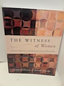 The-Witness-of-Women-Firsthand-Experiences-Restoration-by-Johnson