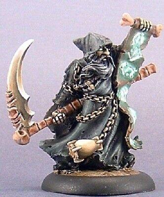 Death Priest Reaper Miniatures Dark Heaven Legends RPG Wizard Mage Cleric