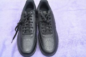 Nike-Court-Vision-LO-Men-039-s-shoes-Black-Black-Black-CD5463-002-SIZE-13