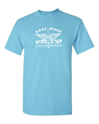 Krav Maga T-shirt Forces De Défense Israéliennes Israël Art Martial Combat Shirt Tee S-5XL