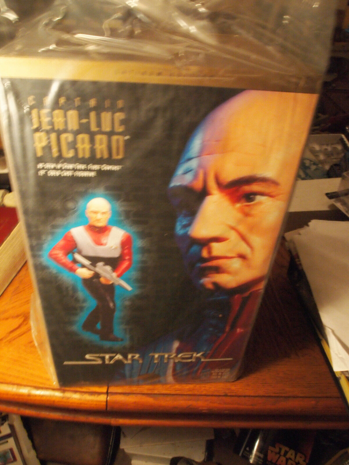 Playmates 1997 Star Trek Latinum Edition Captain Jean Luc Picard, mint in box