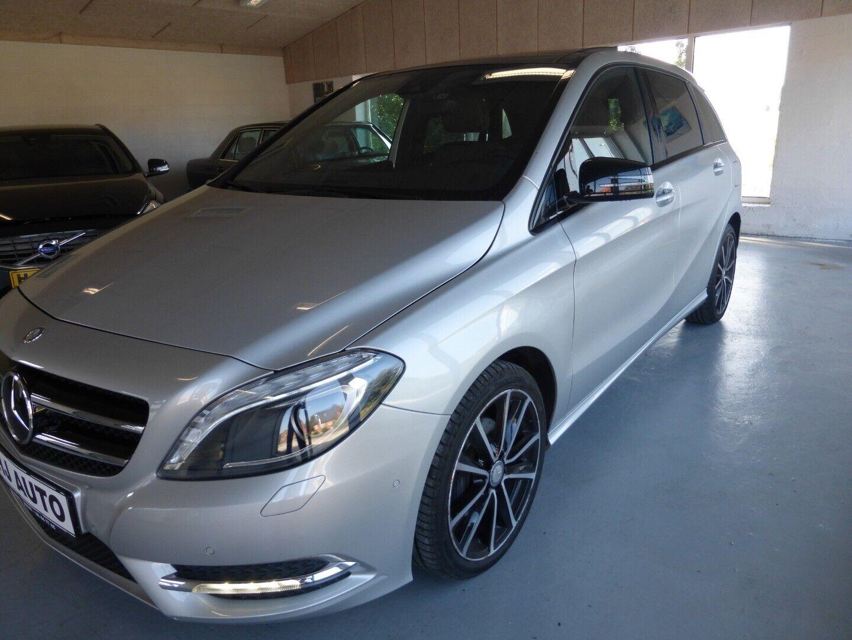Mercedes B200 1,8 CDi aut. BE 5d - 0 kr.