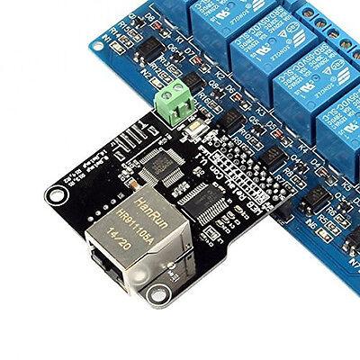 Ethernet Control Module Arduino LAN WAN WEB Server RJ45 Android iOS 8 CHs Relay