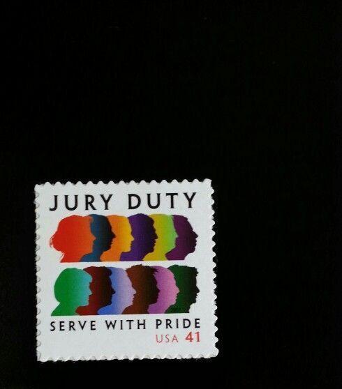 2007 41c Jury Duty, Serve with Pride Scott 4200 Mint F/
