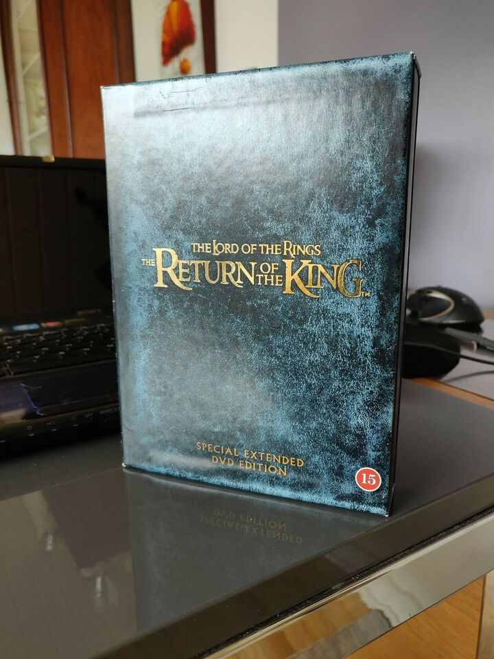 The lord of the rings - the return of the king, DVD, eventyr