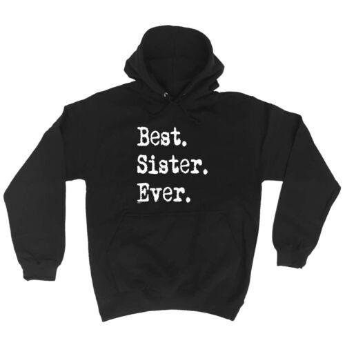 Sister Funny Novelty Hoodie Hoody hooded Top AU1 SUPER HOODIE