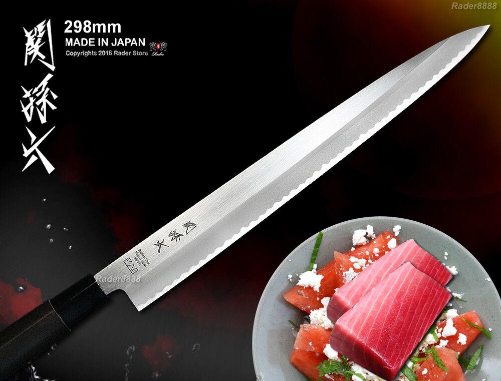 KAI JAPONAIS SASHIMI Couteau Filet Coupe 11.7  Yanagiba couverts simple biseau