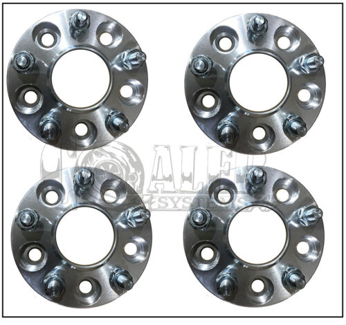 "12x1.25 Studs 5x114.3 Set of 4 Hub Centric Wheel Spacers 2/"" 50mm 5x4.5"